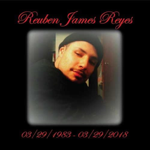 Reuben James Reyes Memorial Shirts